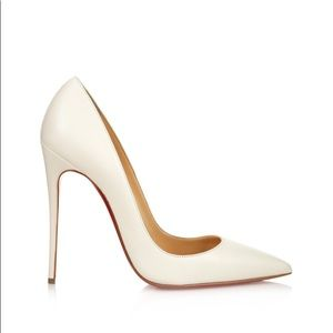 So Kate White Leather Christian Louboutin S 39.